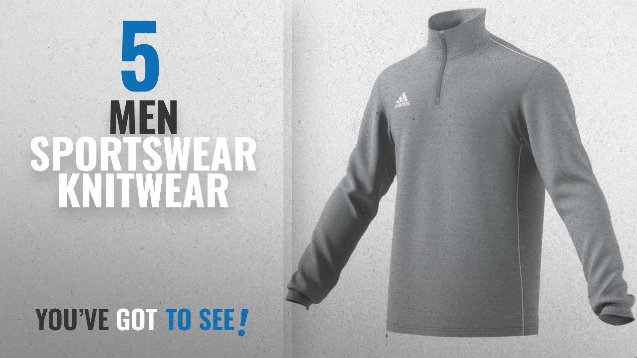 e6769b96eb71 Top 10 Men Sportswear Knitwear  2018   adidas CORE18 Sweatshirt