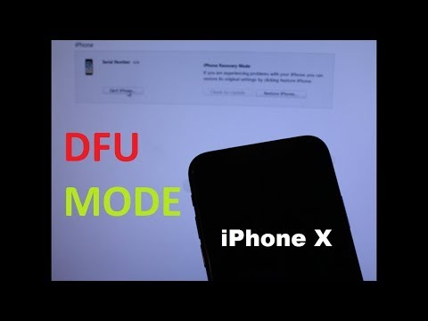iPhone X  XS / 8 PLUS / 8     How to enter DFU MODE