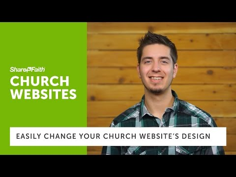 Church Websites - How To Change The Design Of Your Church Websites Without Using HTML Or Javascript