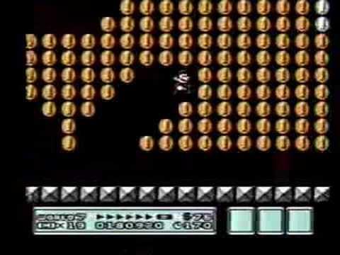 Super Mario Bros  3 -- Get Infinite Lives/Points in World 7
