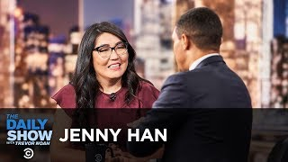 Jenny Han Capturing Young Love In To All The Boys I Ve Loved Before The Daily Show