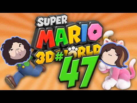 Super Mario 3D World: Cannon Heads - PART 47 - Game Grumps