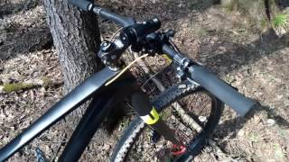 Обкатка карбонового велосипеда из китая aliexpress. Обзор. Carbon bike review