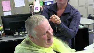 Lost Bet Got Haircut