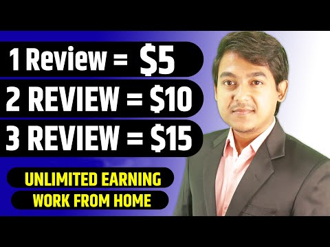 How To Earn Money Online By Simply Giving Reviews - No Investment Work From Home