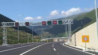 Ovit tüneli Erzurum tarafindan giris, Rize - İkizdere Çıkış