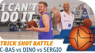 C-BAS vs. Kerusch vs. Dizdarevic | HORSE Trick Shot Battle | easyCredit Basketball Bundesliga