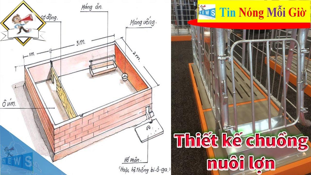 Kỹ thuật thiết kế chuồng nuôi lợn – Một số dụng cụ thiết bị cần thiết trong chăn nuôi lợn