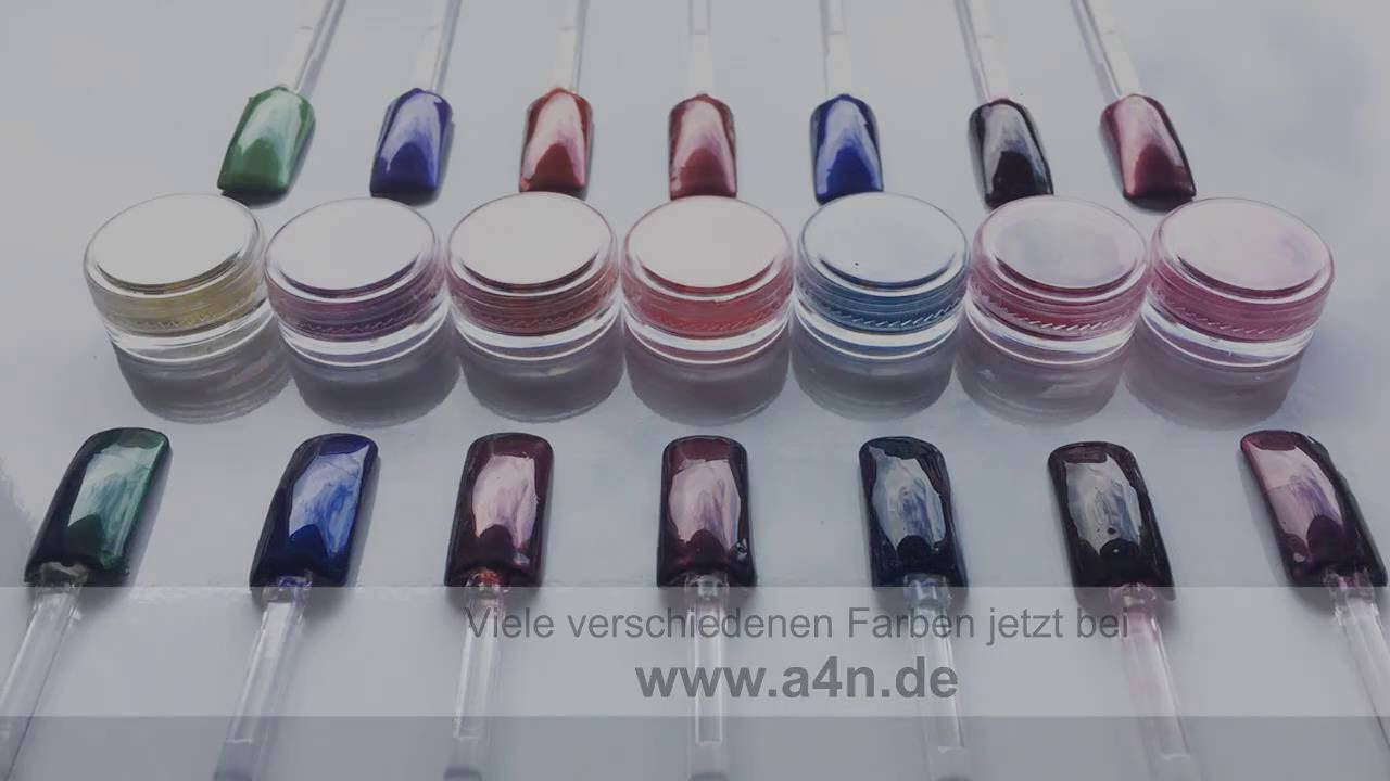 aktive4Nails Chrom Powder Pigmente Pulver Chromeffekt Nails ...