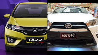 Perbandingan Honda All New Jazz dan Toyota All New Yaris