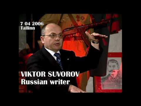 VIKTOR  SUVOROV -  exclusive interview  (part I)