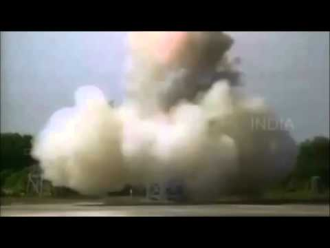 Indian Nuclear Ballistic Missile nearly destroys itself :)