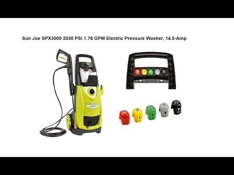 Sunjoe Pressure Joe - Pressure Washer Review (SPX3000)