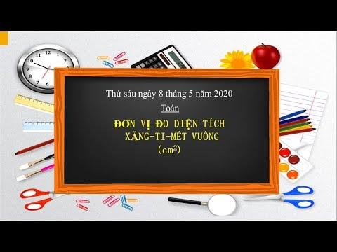 Toán Lớp 3: ĐƠN VỊ ĐO DIỆN TÍCH