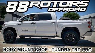 "2019 Toyota Tundra TRD Pro 1"" Shim & Shackles Lift Kit BMC for 35"" Tires"