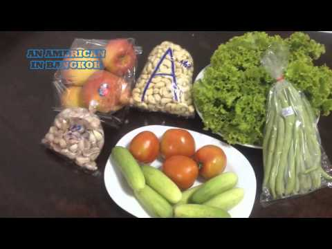 Fresh Fruit and Vegetables: What Does $11 Get You in a Thai Market?