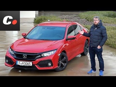 Honda Civic 2017 Primera prueba Test Review en espaol Contacto Coches.net