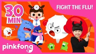 Beat the Flu! Stay Healthy! | +Compilation | Healthy Habits | Pinkfong Songs for Children