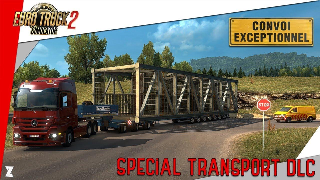 euro truck simulator 2 d couverte du special transport. Black Bedroom Furniture Sets. Home Design Ideas