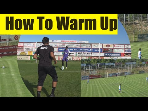 Goalkeeper Training: How To Warm Up I How to Get Keeper Ready for the big game!