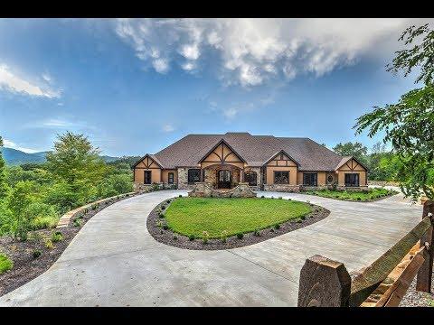 Enduring Mountain View Home in Alexander, North Carolina