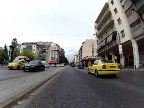 Driving in Athens 1