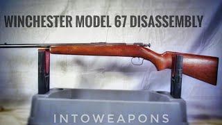 Winchester Model 67 Junior Model - Shooting - Disassembly