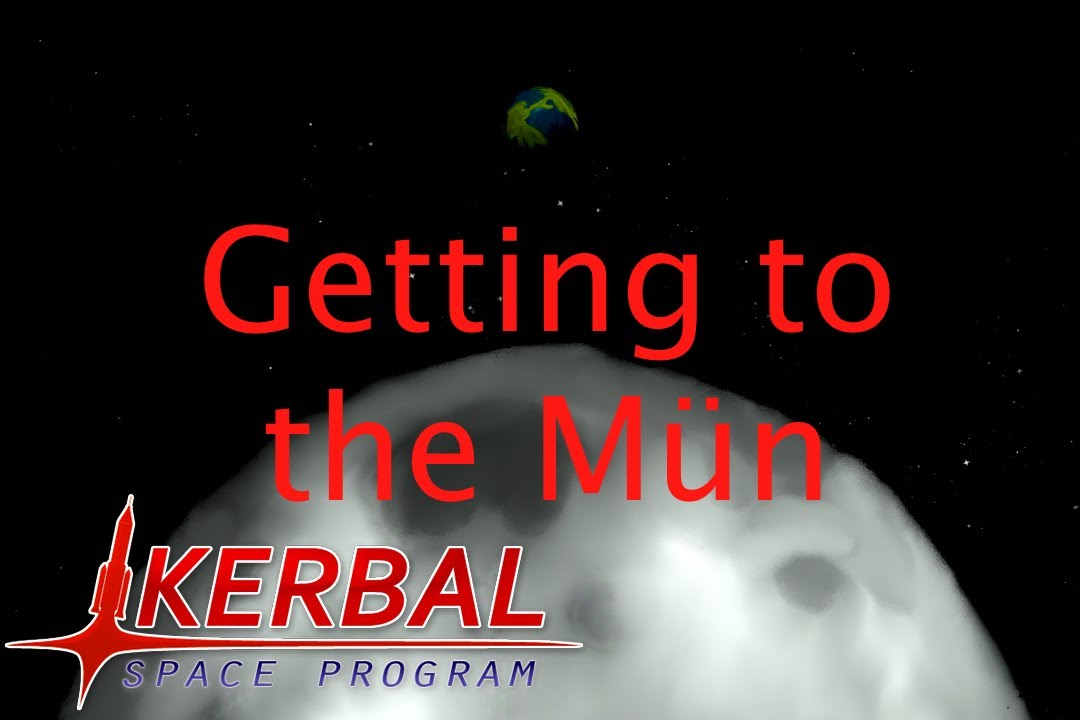 kerbal space program how to get to the moon
