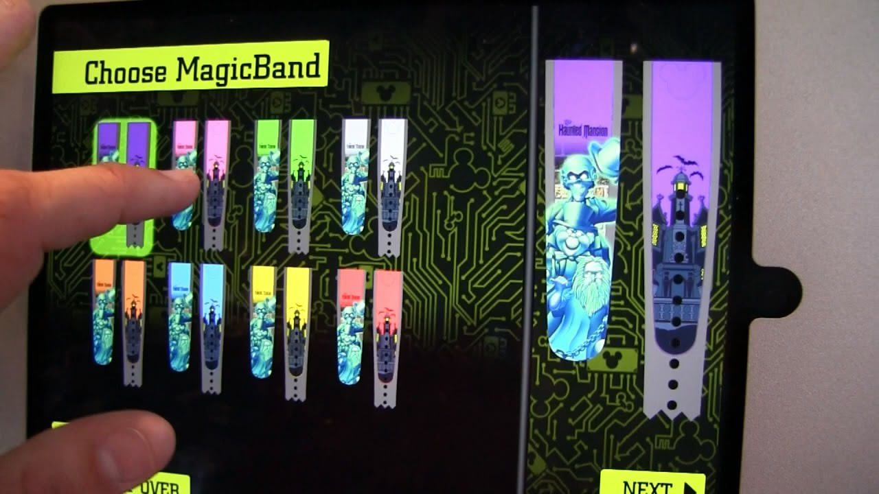 bands hints wdw customized your customize magic