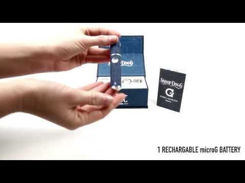 how to use Snoop Dogg microG Herbal™ Double G Series