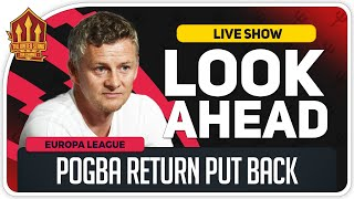 Lask Linz vs Manchester United! SOLSKJAER'S POGBA UPDATE