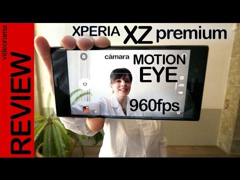 Sony Xperia XZ Premium alucinante prueba de cámara a 960 fps