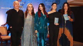 Alia Bhatt Lanches Sister Shaheen Bhatt's Book 'I've Never Been (un)Happier'