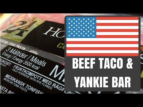 US Individual Meal - Taco Beef / Yankie Bar