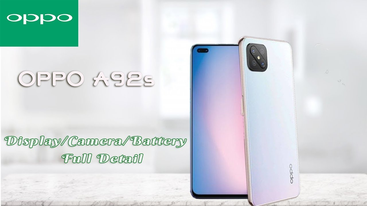 OPPO A92s 5G Overview - YouTube