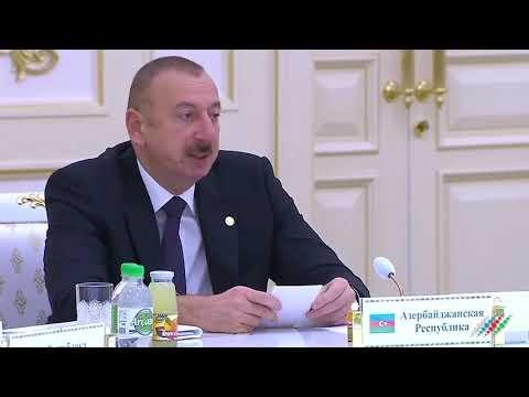 Ильхам Алиев в Ашхабаде: Захвати фашисты Баку, советская армия осталась бы без топлива