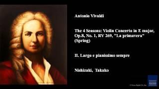 Antonio Vivaldi, II. Largo e pianissimo sempre