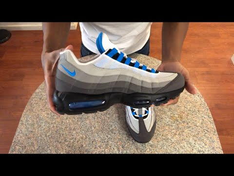 """nike-air-max-95-""""crystal-blue""""-(2019)---unboxing"""
