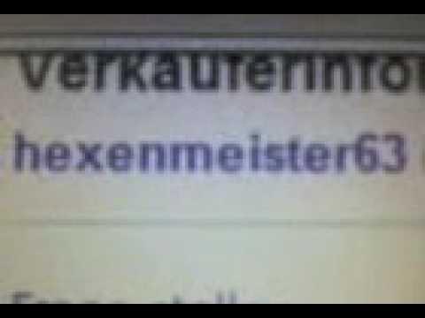 Ebay hacking=Hexenmeister63