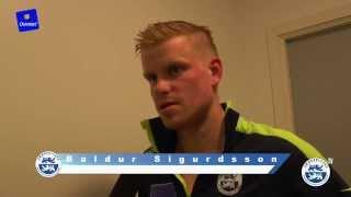 Sigurdsson: Dejligt at være tilbage