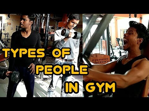 Types of people in GYM | In India | by Amit Singh n Team