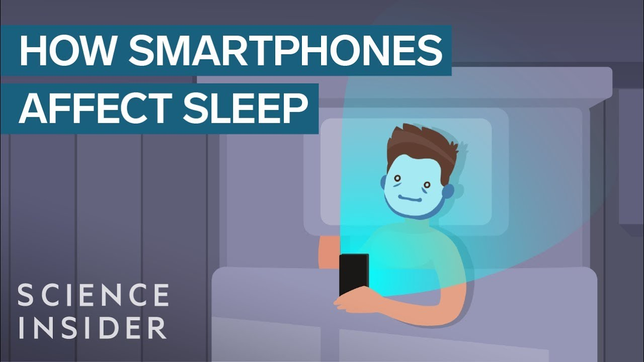 This Is What Happens To Your Brain And Body When You Check Your Smartphone Before  Bed  Youtube