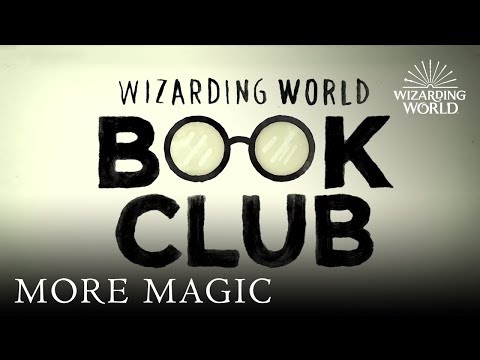 Welcome to The Wizarding World Book Club | Exclusive