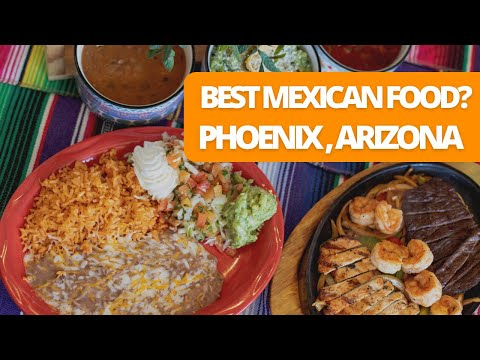 Is This The Best Mexican Food In Phoenix? | Food Vlog