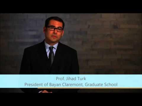 Jihad Turk President of  Bayan Claremont, Graduate School