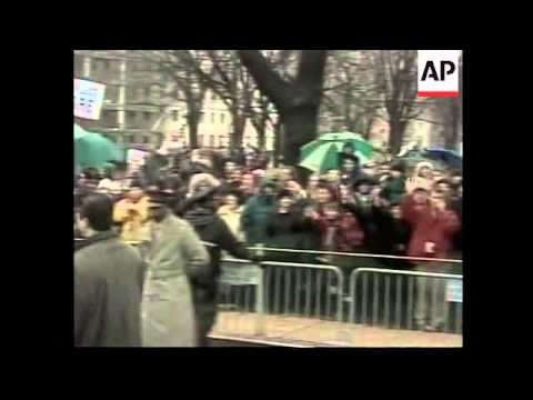 USA: GEORGE W BUSH INAUGURAL PARADE - YouTube