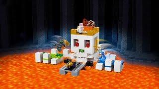 """Lego Minecraft """"Czaszkowa Arena"""" - [Speed Build]"""