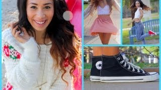 5 Back To School Fall Outfits ☀♡ For Warm Weather!