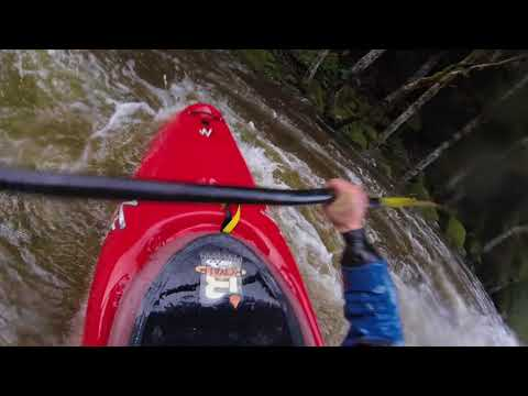 "Memekay River ""Middle Fork into Main"" - High (180cms) - Full Run - Raw Guide - BC, Canada"