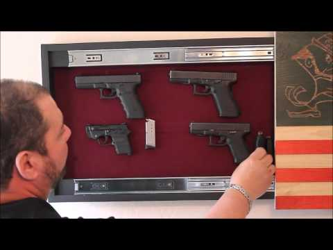 Gun Concealment Tribute Flag by Top Secret Furniture  YouTube